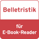 Belletristik für E-Book Rea
